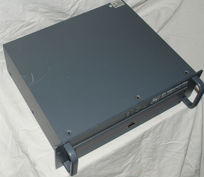 electro voice ev p1200rl endstufe 2x600 watt demomodell. Black Bedroom Furniture Sets. Home Design Ideas