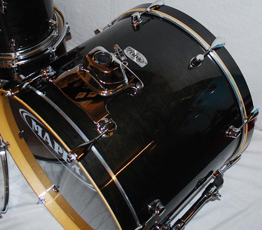 mapex pro m all maple fusion plus drum set midnight black. Black Bedroom Furniture Sets. Home Design Ideas